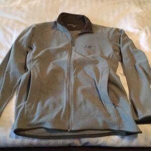 Men's Arc'Teryx Large gray zip jacket